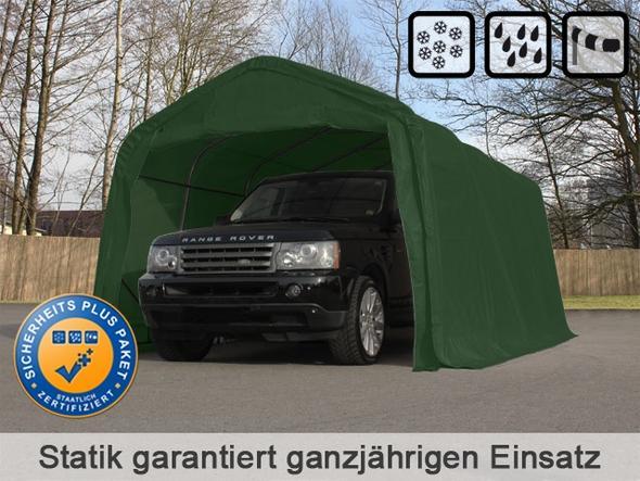 Zeltgarage (Beispiel) - (Carport, Zeltgarage)