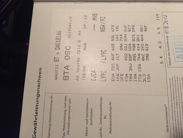 Infos zu Auto, Motorcode: CJCA - (Audi, lambdasonde, Sportback)