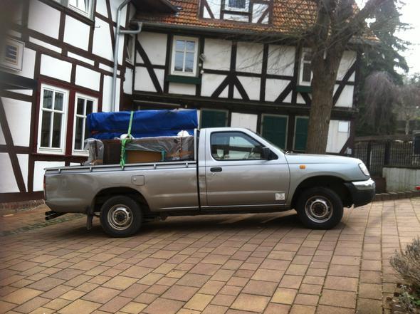 Nissan pickup bj. 1991 - (Zulassung, Fahrzeugpapiere)