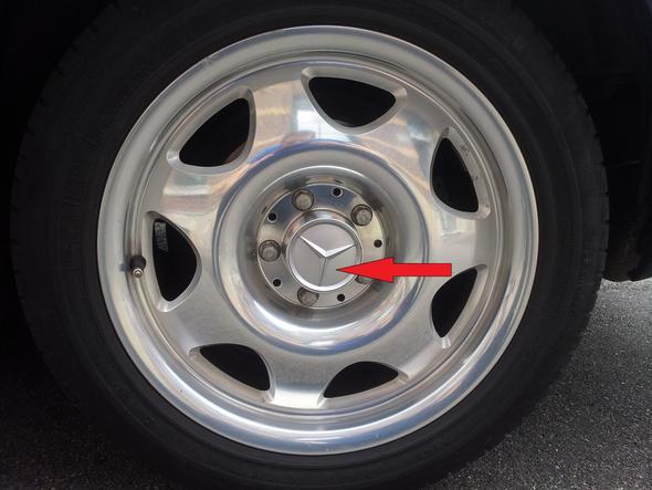 Mercedes Felge - (Felgen, Rad)