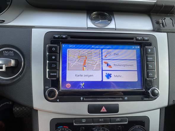 VW Passat 2012 Multmedia-Display?