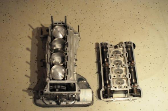 Draufsicht - (Motor, Oldtimer, Alfa Romeo)