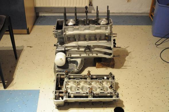 Vorne - (Motor, Oldtimer, Alfa Romeo)